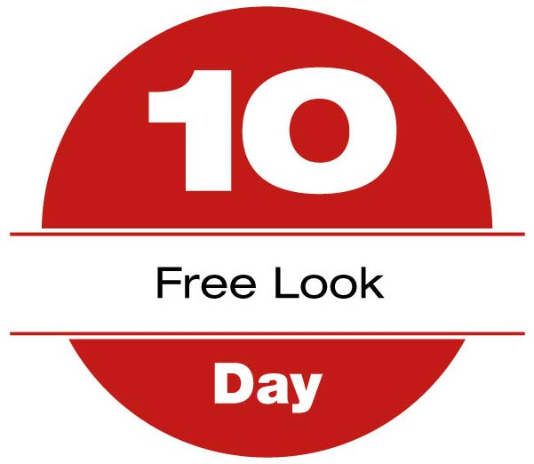 10 day free look travel insurance refund